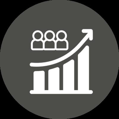 Activ Customer Growth Icon